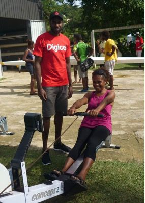 Olympian Coaches at Olympic Day – Passing on the Baton