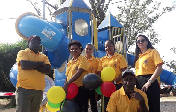 Santo Rotary Club Hands Over Kids Playground to Luganville Lord Mayor