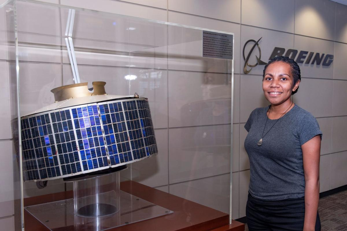 STUDENT IMPRESSED WITH KACIFIC1 SATELLITE