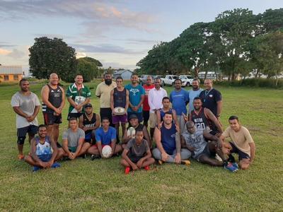 Vanuatu Rugby Union new executives begin community visits