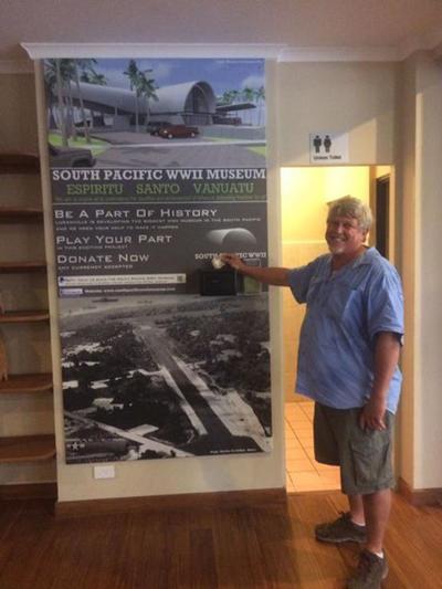 WW ll Museum Association Chairman Brad Wood