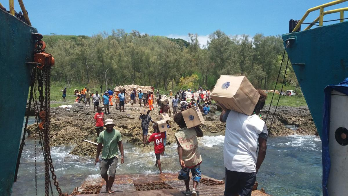 Water and food for drought-stricken communities