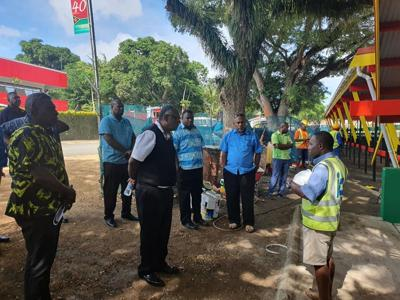 Minister tours Independence Grandstand ahead of opening