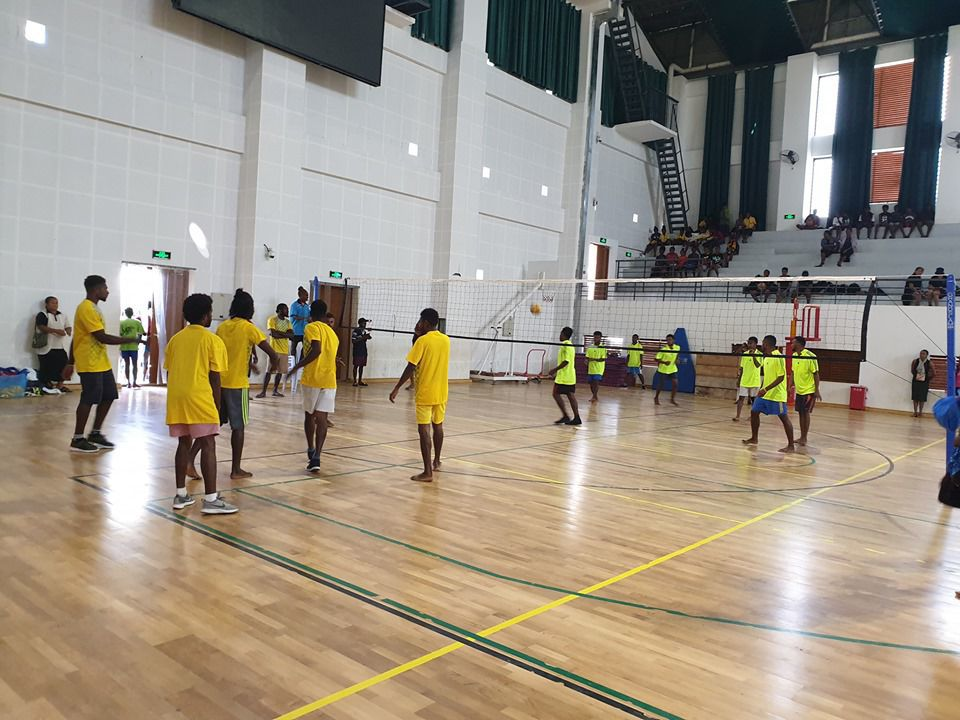 Gold for Lycee Lab CAT A in ESSA Indoor Volleyball