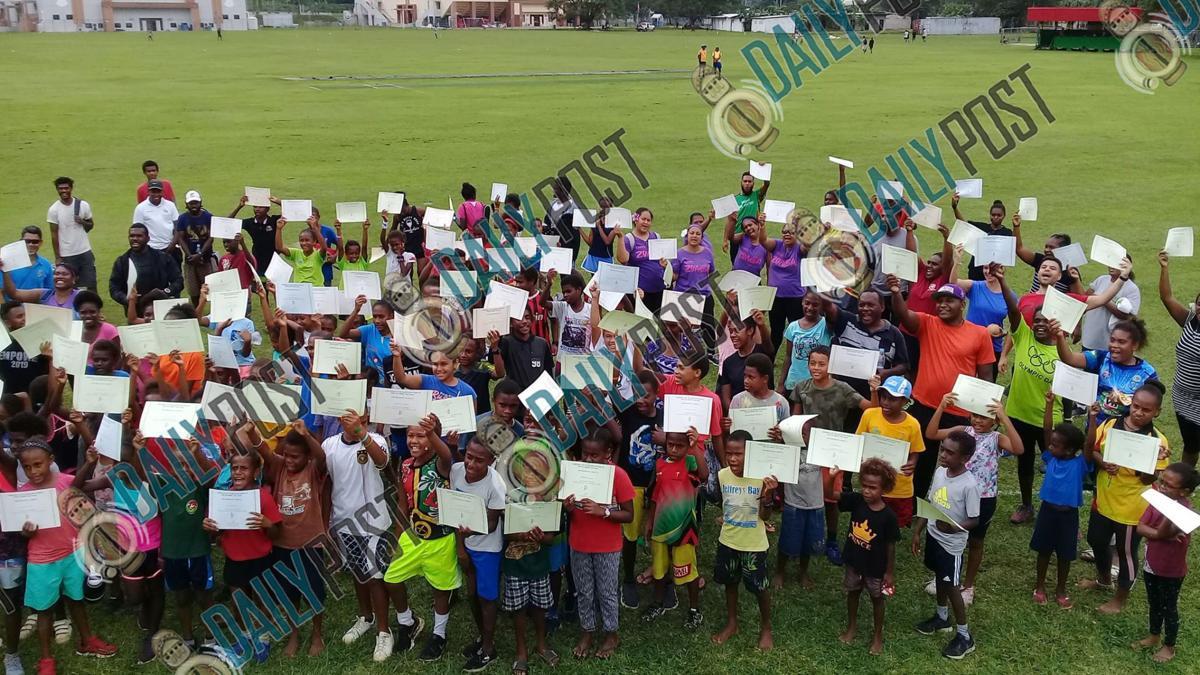 Vanuatu celebrates Olympic Day