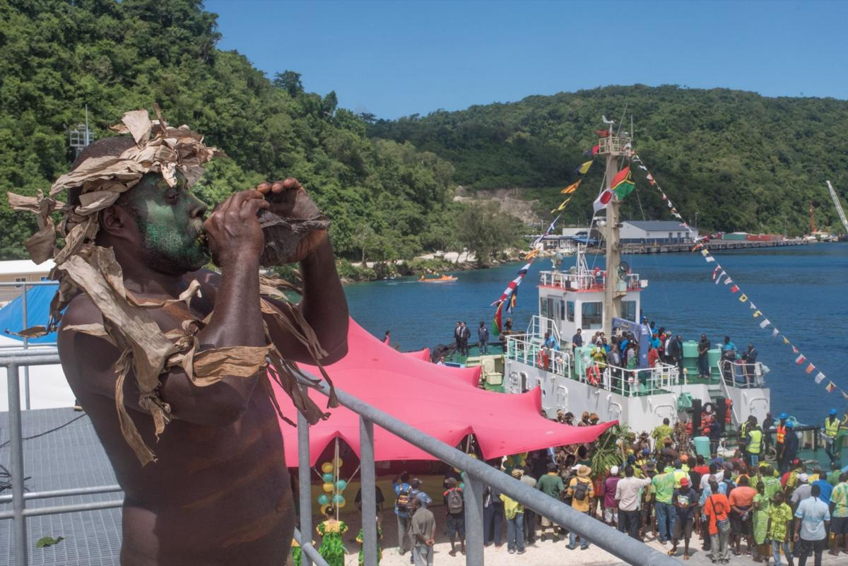 Lapetasi wharf officially opens