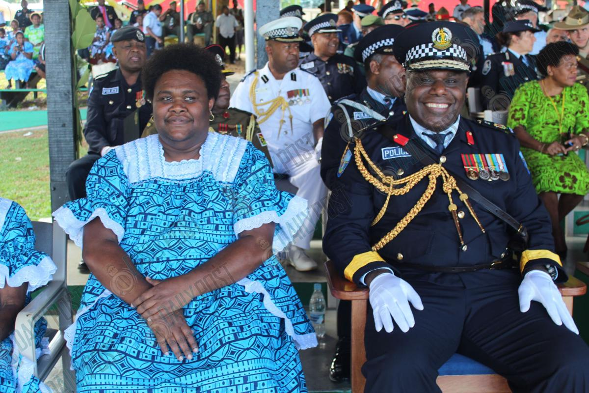 Iavro sworn in as 13th Police Commissioner