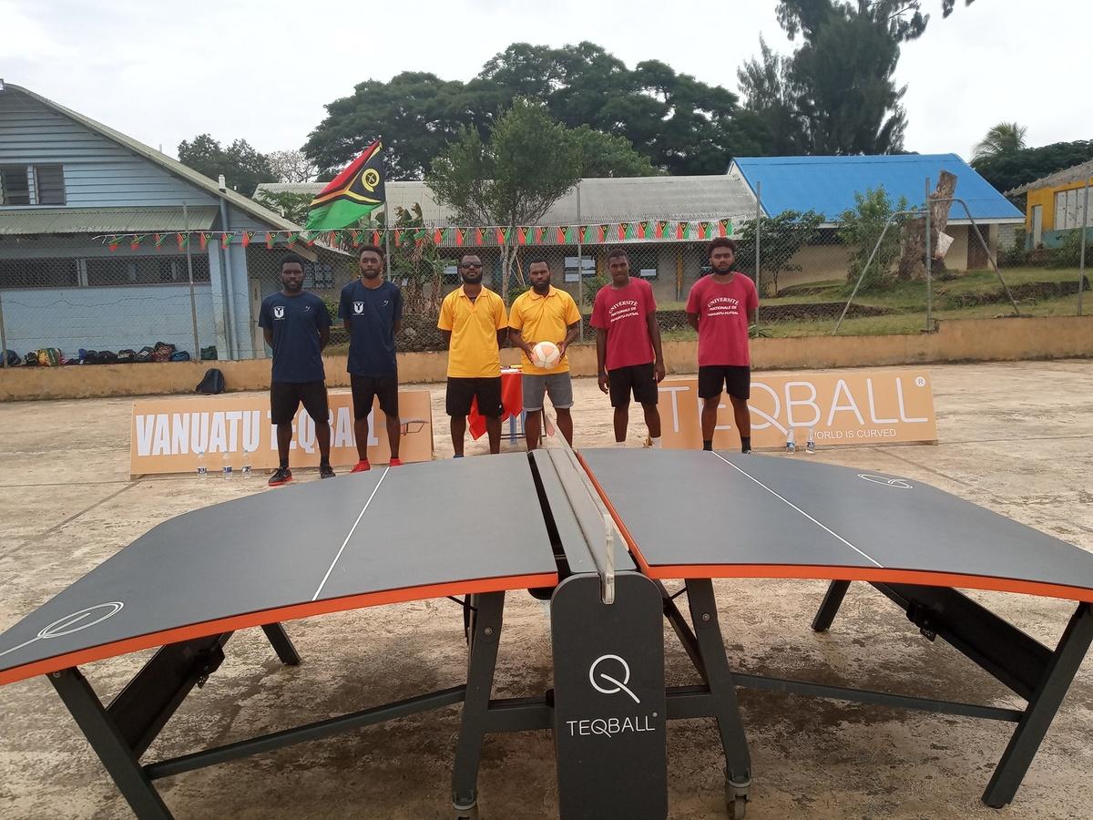 Vanuatu Teqball Federation President seeking NOC recognition
