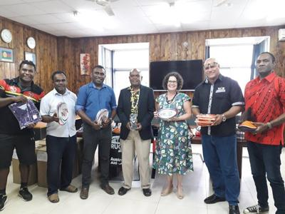 Minister for Youth and Sports vows support to Vanuatu Rugby Union