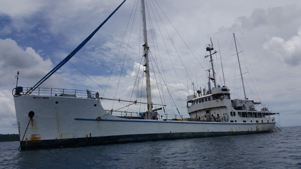 MV Betsy Ross comes to 'life'
