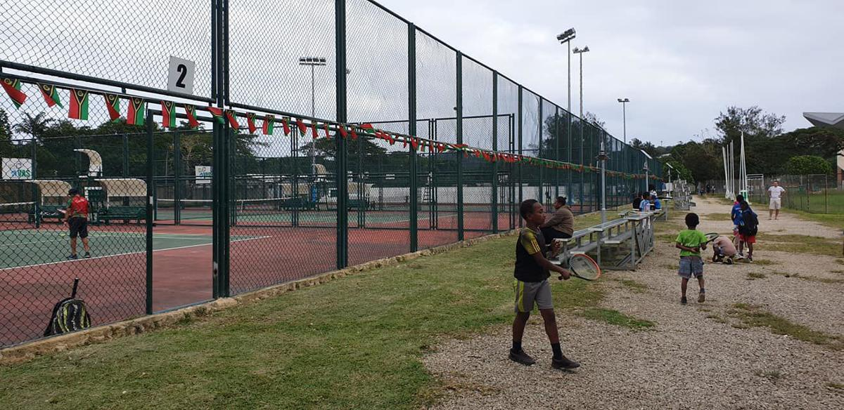 Siba excited on tennis debut
