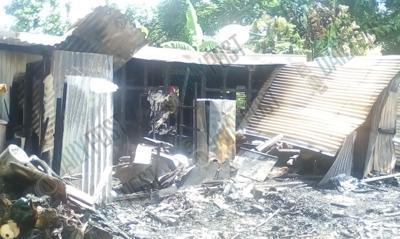 3-YEAR-OLD DIES IN FIRE