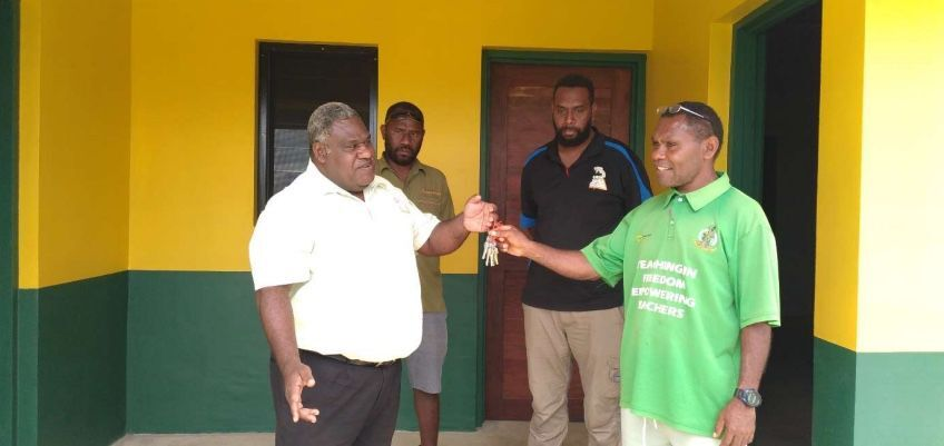 Teouma Schools, Efate – Practical Completion and Handing Over