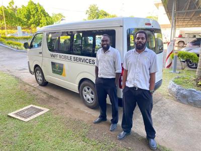 VNPF Launches Mobile Service