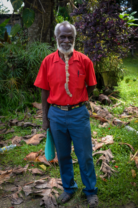 71-year-old Man Makes a Complete Circuit around Efate on Foot