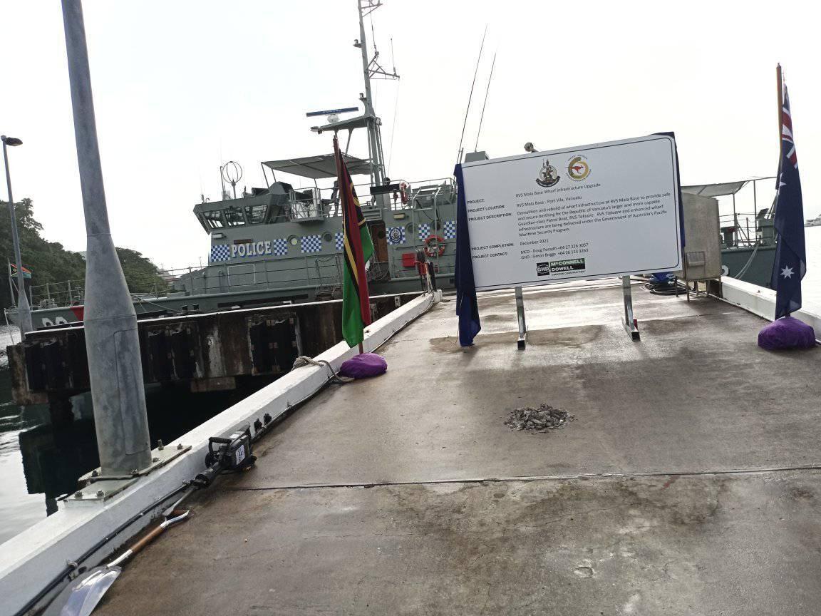 Major Upgrade for Mala Base Wharf