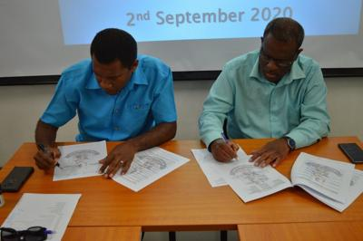 Historic MOU signed between OGCIO and TFSC