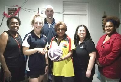 Vanuatu Netball grateful for assistance from La Trobe University