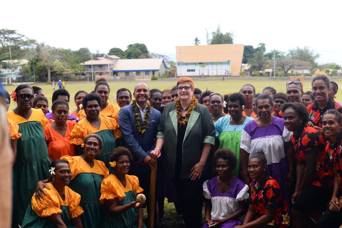Payne applauds Pacific Sports Partnerships programme progress in Vanuatu