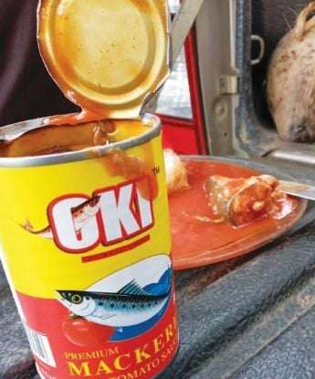雷根瓦努说,停止向受灾者提供受污染的罐装鱼