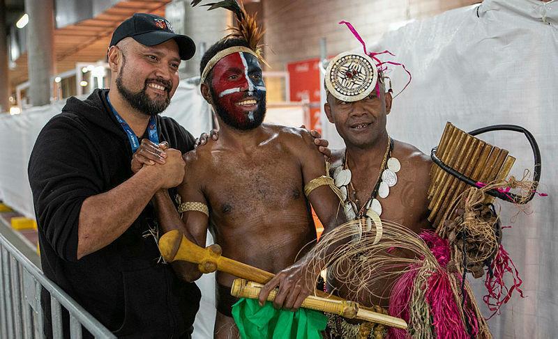 Vanuatu performs at Royal Edinburgh Military Tattoo in Sydney