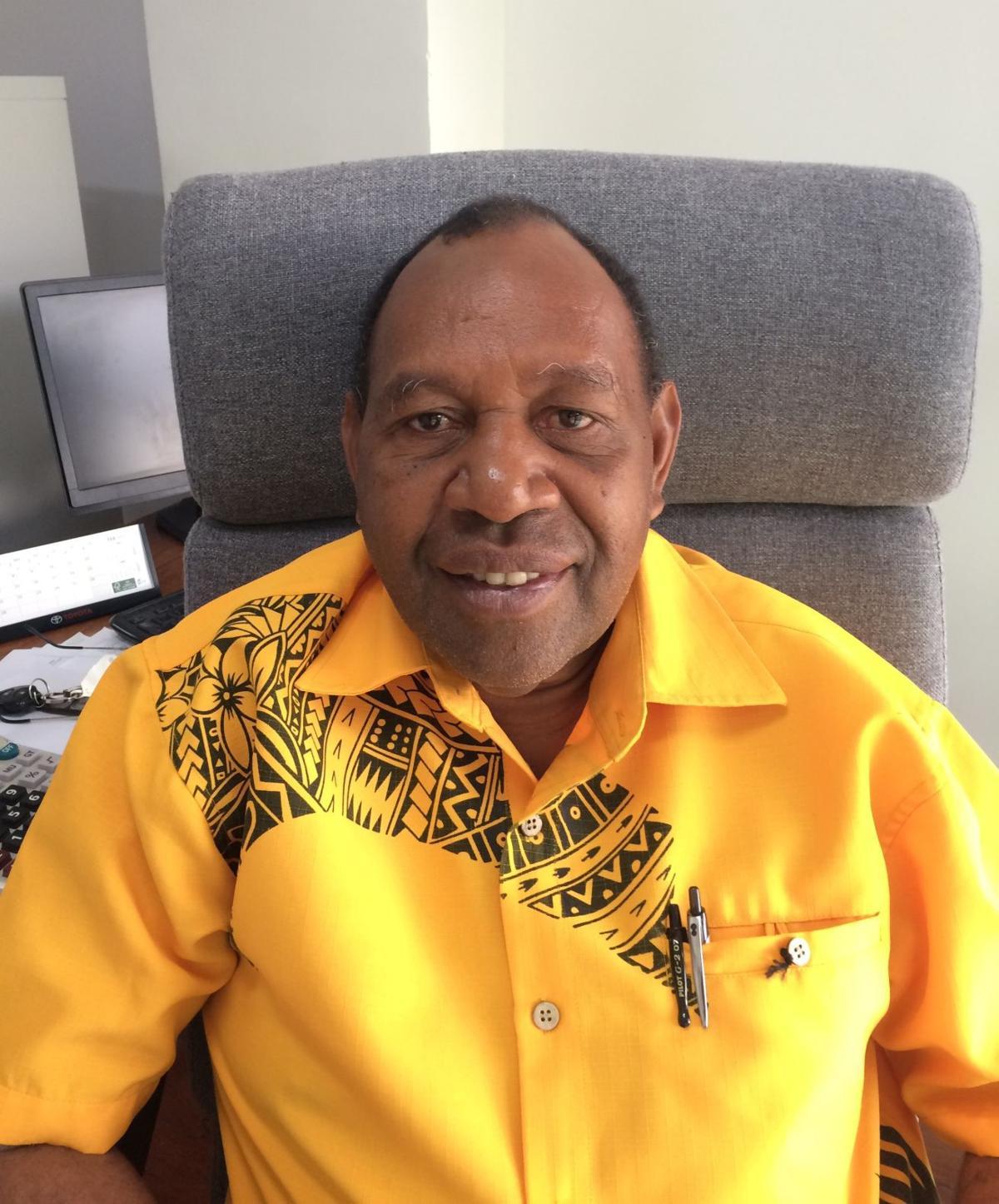 AFIC Director Mr. Barnabas Tabi