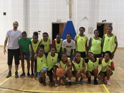 Young Electro women basketball side book final spot