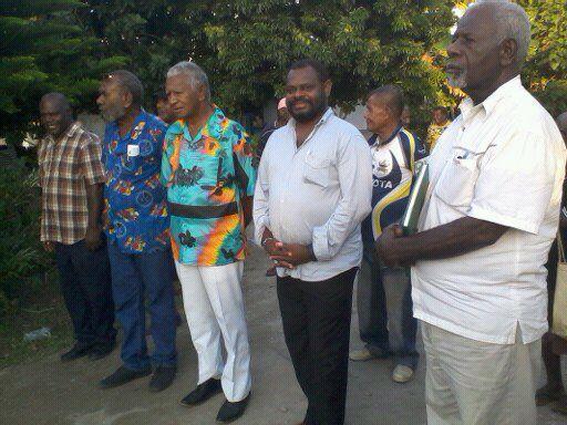 Minister Norris Jack Kalmet visits Melemaat and Mele villages