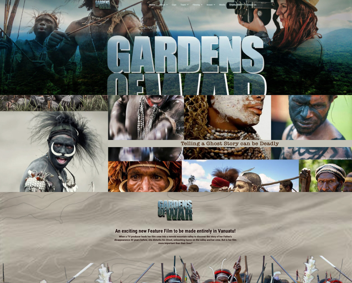 Gardens of War Movie Launches to Government and Investors