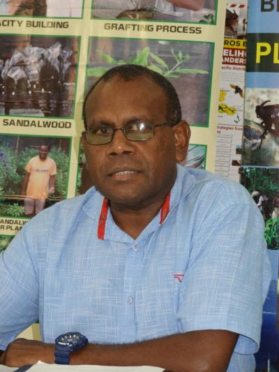 Lack of manpower and funding to eradicate coconut rhinoceros beetle