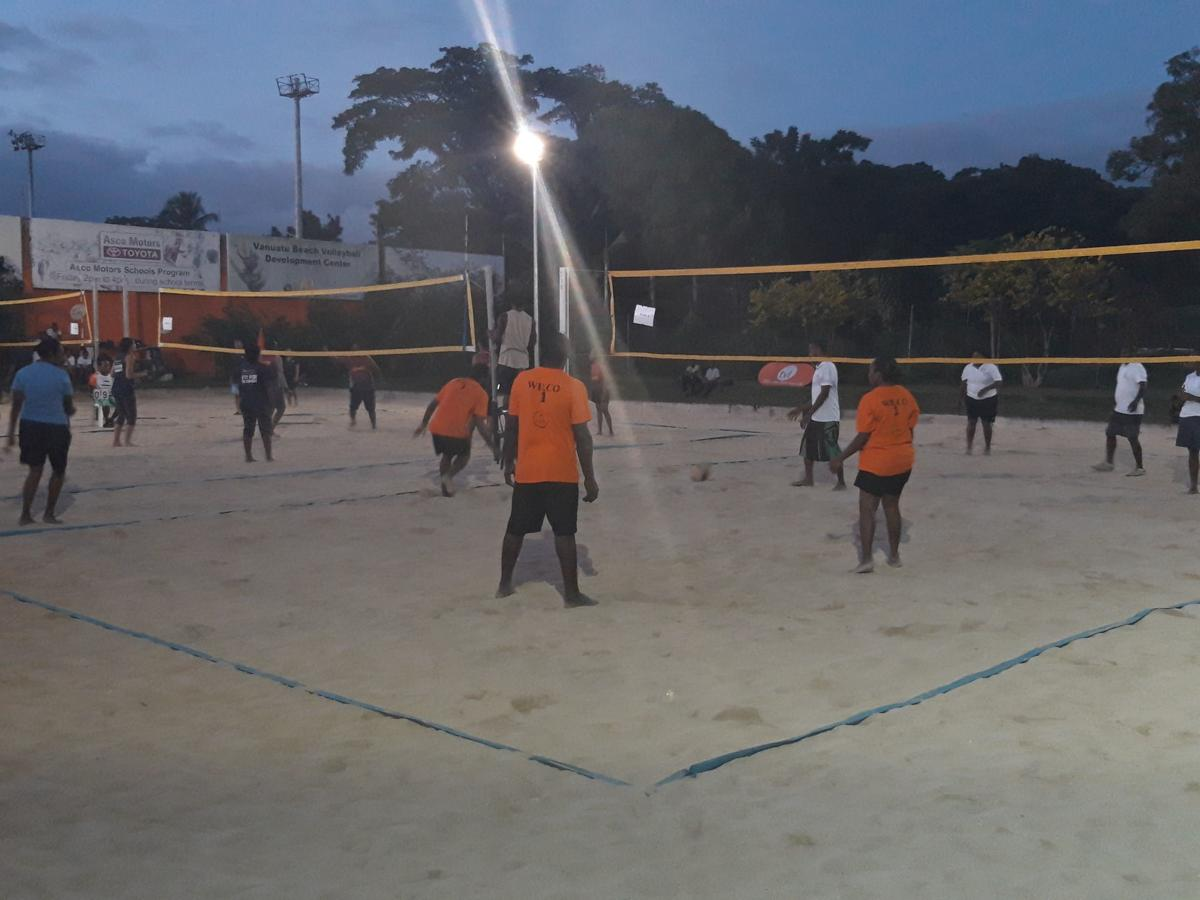 TVL Corporate Volleyball Wellness Shield Week 3 of Competition