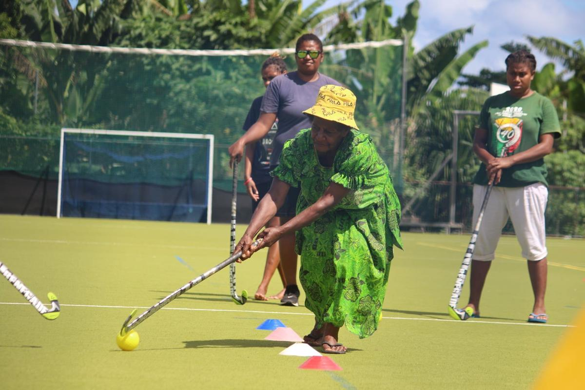 Vanuatu Hockey's First Mama programme kicks off