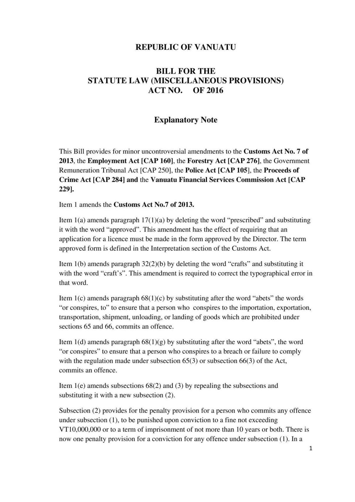 Bill for the Statute Law (Miscellaneous Provisions) Act No. of 2016.pdf