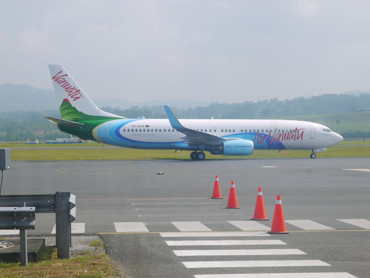 Air Vanuatu takes delivery of new Boeing 737-800
