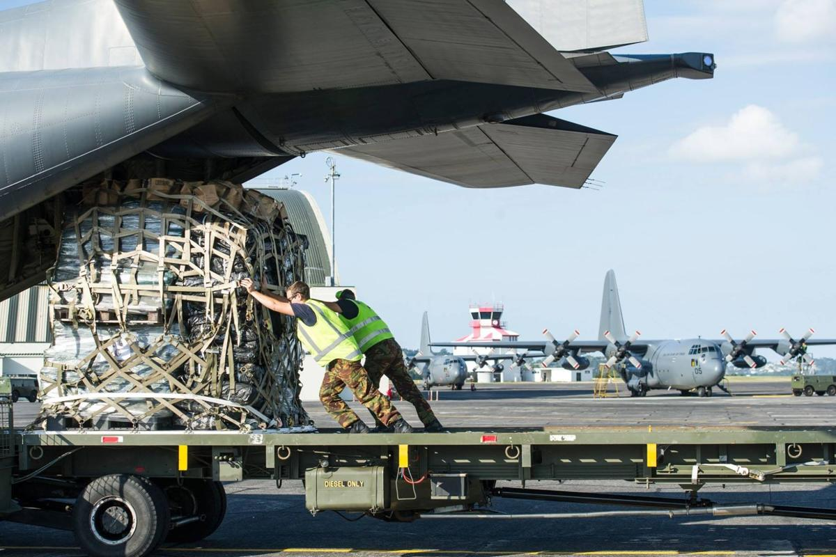 NZ defense force loading aid supplies bound for Fiji- Photo-NZDF_Facebook