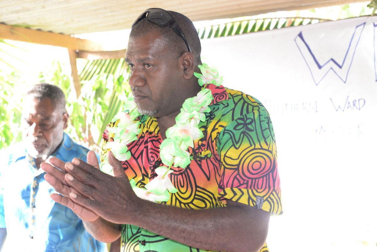 Green Port Vila Regional President, Jean Yves Malsungai