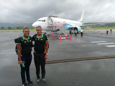 Miller Pata and Sherysyn Toko embark on FIVB World tour