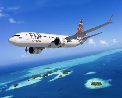 Fiji Airways 737 Max 8