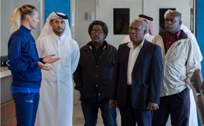 Maltock leads high-profile delegation to Aspetar