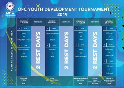 OFC Youth Tournament set to kick-off