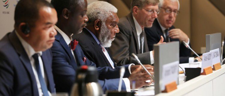 DPM Natuman attends Aid For Trade Biennial Global Review 2017