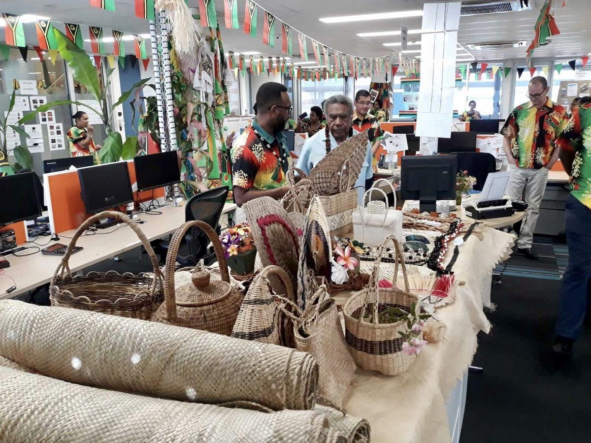 ANZ hosts first President to celebrate 40 years of Vanuatu's Independence