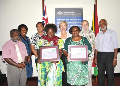 Australian High Commission recognises exceptional women on International Women's Day