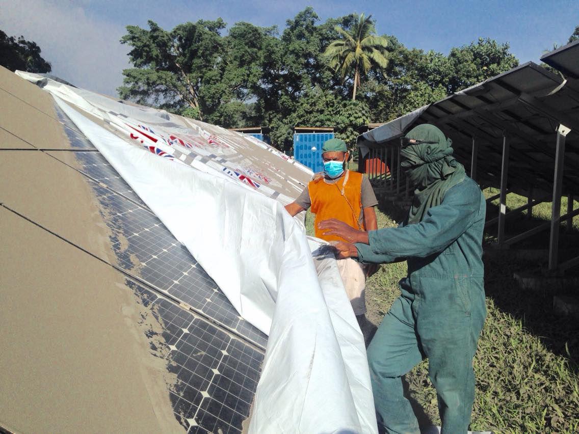 Lolowai Hospital solar