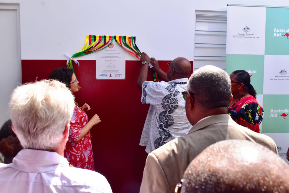 Port Vila Central Market officially opens