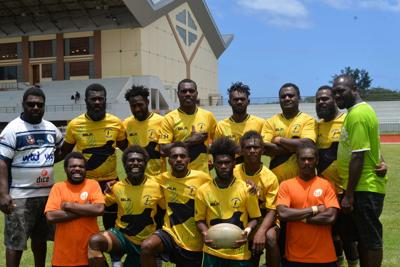 Ifira Rugby prepares for Darwin 7s