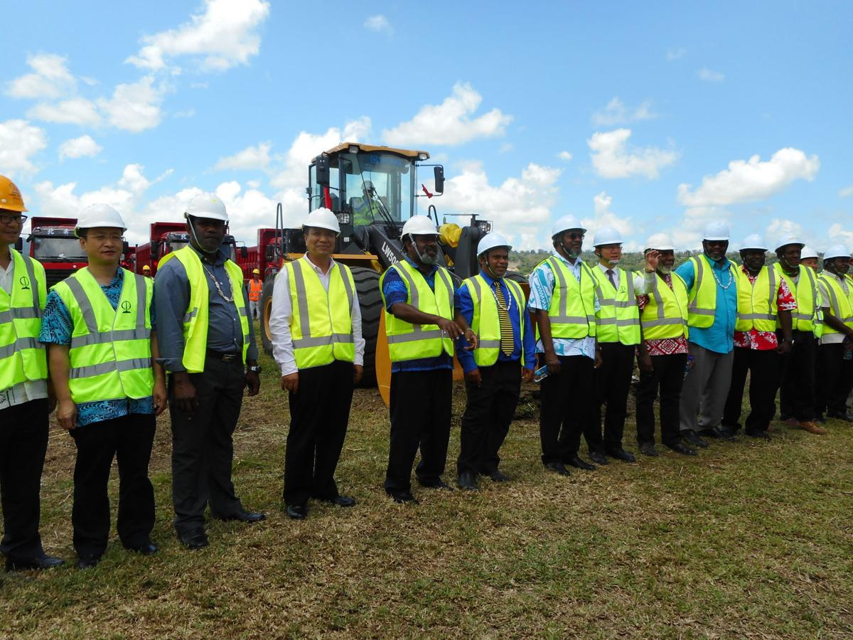 President Zhao says CCECC well suited for Bauerfield runway project