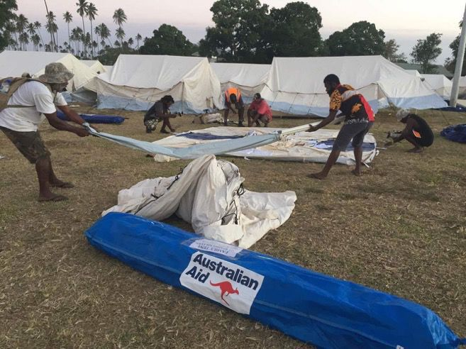 Police investigate Ambae disaster relief operation