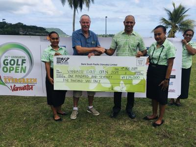 BSP Tees Off VT175, 000 for Vanuatu Golf Open
