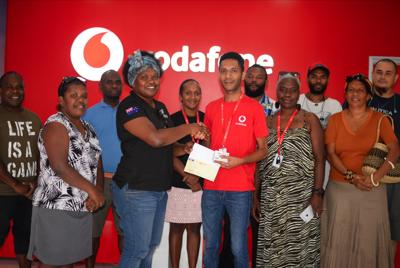 Vodafone Supports Fest'Napuan with Vt600,000 Cash Donation